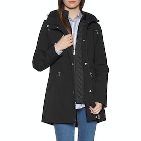 Lauren Ralph Lauren Soft Shell Synthetic Womens Bunda - Black