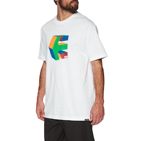 Etnies Cube Short Sleeve T-Shirt - White