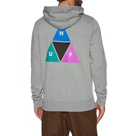 Pullover à Capuche Huf Prism - Grey Heather