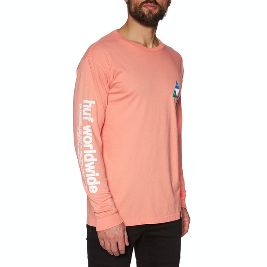 Huf Prism TT Long Sleeve T-Shirt