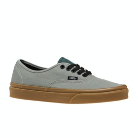 Vans Authentic Gum Trainers - Shadow Trekking Green