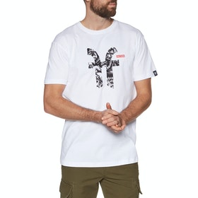 Faction M Faction X Dragon Icon Short Sleeve T-Shirt - White