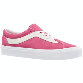 Vans Bold Ni Suede Trainers - Knockout Pink True White