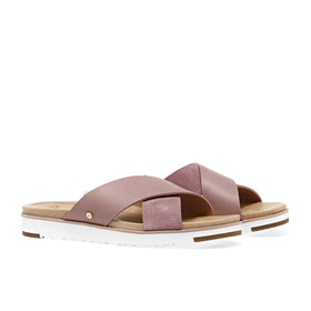 UGG Kari Dames Sliders - Pink Down