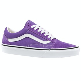 Vans Old Skool Trainers - Dewberry True White