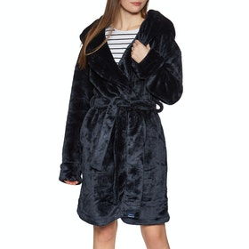 Superdry Supersoft Loungewear Womens Dressing Gown - Rinse Navy