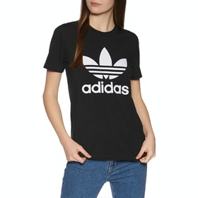Adidas Originals Trefoil Womens Short Sleeve T-Shirt - Black