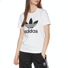 Adidas Originals Trefoil Womens Short Sleeve T-Shirt - White