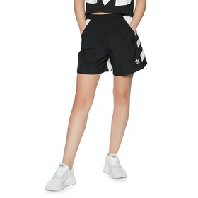 Adidas Originals Large Logo Womens Shorts - Black