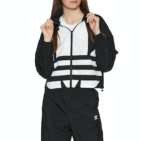 Adidas Originals Large Logo Womens Track Jacket - Black/white