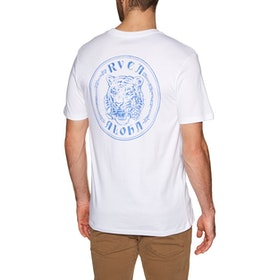 RVCA Alohatiger Short Sleeve T-Shirt - White
