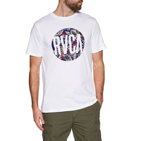 RVCA Big Motors Short Sleeve T-Shirt - White