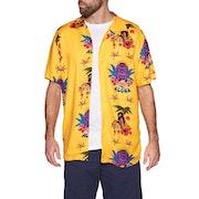 RVCA Dmote Tiki Short Sleeve Shirt