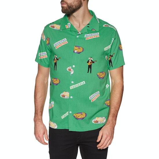 Chemise à Manche Courte RVCA Hot Fudge