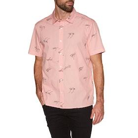 RVCA Johanna Olk Gestures Short Sleeve Shirt - Pink