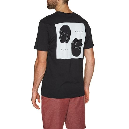 T-Shirt à Manche Courte RVCA Johanna Olk Heads