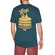 T-Shirt à Manche Courte RVCA Paradise Records
