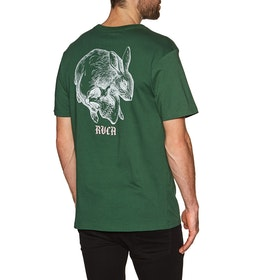 RVCA Skull Rabbit Short Sleeve T-Shirt - Green