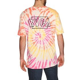 RVCA Swerve Short Sleeve T-Shirt - Pink Haze