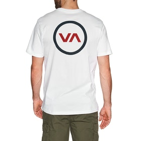 RVCA Va Mod Short Sleeve T-Shirt - White