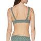 RVCA Axis Revo Tie Front Womens Bikini Top