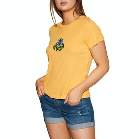 RVCA Happy Days Short Sleeve T-Shirt - Amber