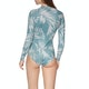 Billabong 2mm Salty Dayz Long Sleeve Shorty Womens Wetsuit