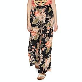 Billabong Falling Sun Womens Trousers - Black Floral