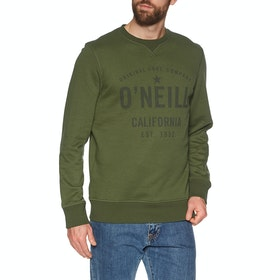 Sweat O'Neill Lm Hensley Crew - Winter Moss