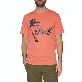 O'Neill Palm Graphic Short Sleeve T-Shirt - Mandarine