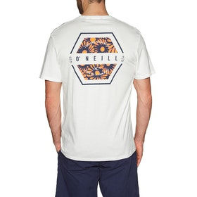 O'Neill Lm Phil Short Sleeve T-Shirt - Powder White