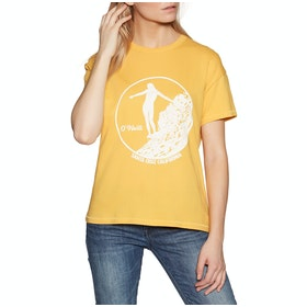 O'Neill Olympia Womens Short Sleeve T-Shirt - Golden Rod