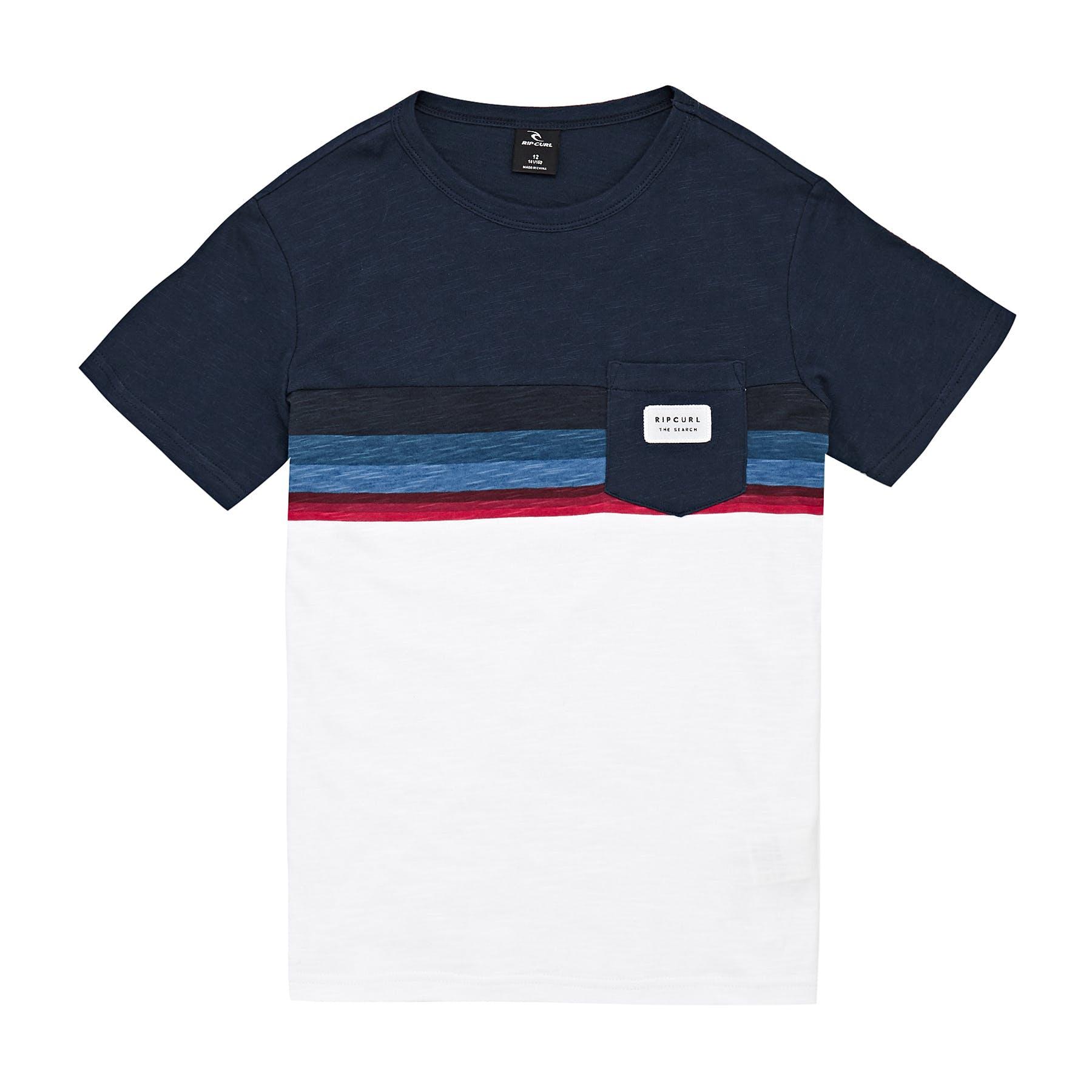 Rip Curl Rapture Short Sleeve T-Shirt in Dark Denim