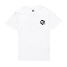 T-Shirt a Manica Corta Rip Curl Wettie Boy - Optical White