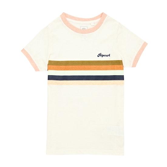 Camiseta de manga corta Rip Curl Girl Keep Surfin