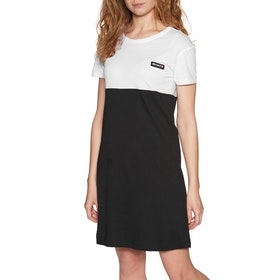 Element Blocked Dress - Flint Black