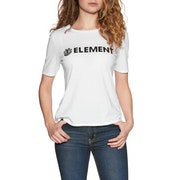 T-Shirt de Manga Curta Senhora Element Logo CR