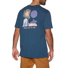 Vissla Siesta Short Sleeve T-Shirt - Strong Blue