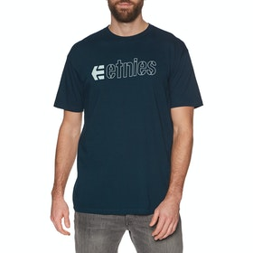 T-Shirt à Manche Courte Etnies Ecorp - Navy