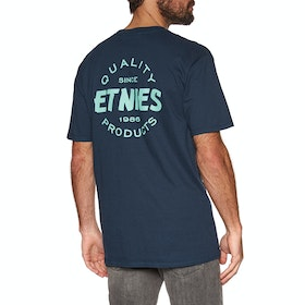 Etnies Quality Control Short Sleeve T-Shirt - Navy Blue