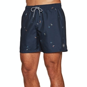 Protest Souflee Boardshorts - Ground Blue