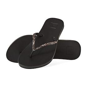 Reef Cushion Bounce Stargazer Womens Sandals - Black Bronze