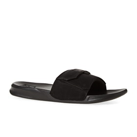 Reef Stash Sliders - Black