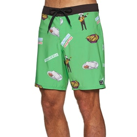 RVCA Hot Fudge 18in Boardshorts - Green