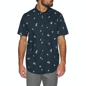 Billabong Sundays Mini Short Sleeve Shirt - Navy