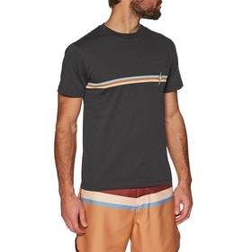 Lightning Bolt Stripe Pocket Short Sleeve T-Shirt - Phantom