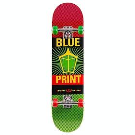 Skateboard Enfant Blueprint Pachinko - Rasta