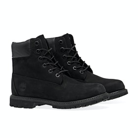 Timberland Icon 6in Premium Waterproof Women's Boots - Black Black