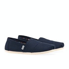 Toms Mens Classic Alpargata Men's Slip On Trainers - Navy
