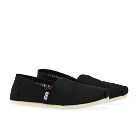 Toms Classic Shoes - Black Canvas